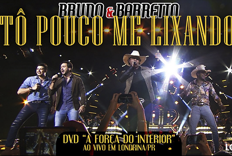 "Bruno e Barretto | Tô Pouco Me Lixando (part. Conrado e Aleksandro) | DVD ""A Força do Interior"""